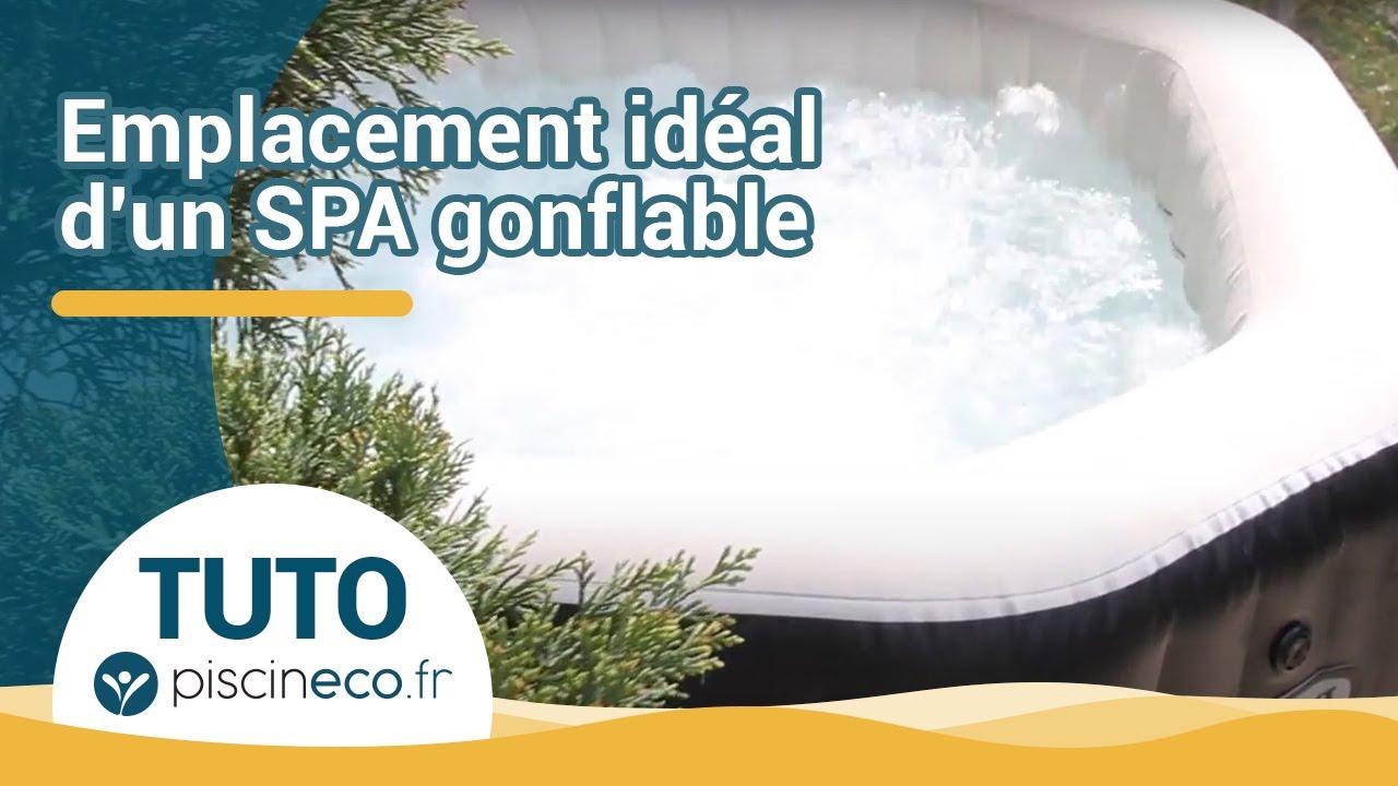 Trouver L Emplacement Ideal Pour Un Spa Gonflable Youtube