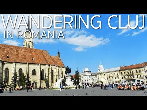 Eating Stuffed Cabbage and Wandering in Cluj-Napoca Romania E032