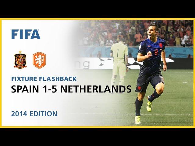 Spain 1-5 Netherlands | Brazil 2014 | FIFA World Cup