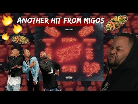 MIGOS - STIR FRY ( OFFICIAL AUDIO )  REACTION