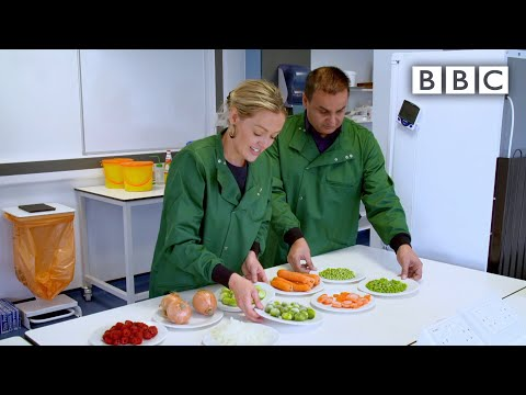 Fresh or frozen food? Using SCIENCE to prove which is best with surprising results! - BBC