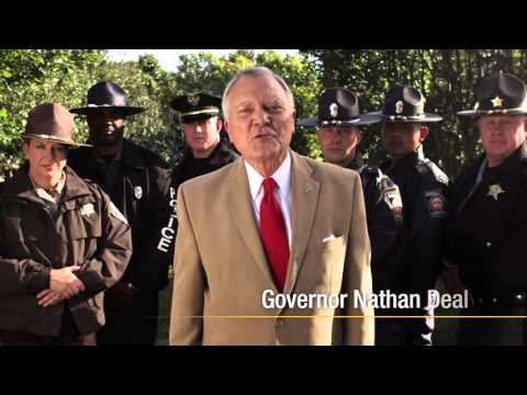 2015 Holiday PSA with Gov. Nathan Deal