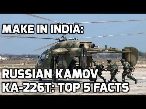 MAKE IN INDIA: RUSSIAN KAMOV KA-226T: TOP 5 FACTS