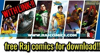 How to download or read online Raj comics(Hindi comics) for free?   Explained in Hindi  