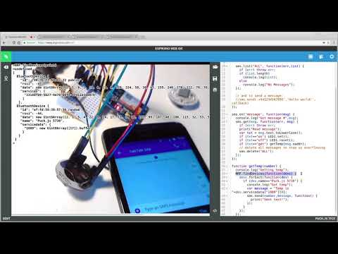 Using SMS text messages to remotely monitor state (Puck js) - YouTube