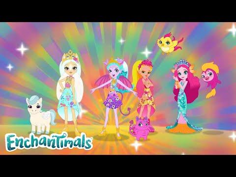 Royal Enchantimals: A Royal Rescue Part 1 👑  | Wonderwood Meets The Royals | @enchantimals