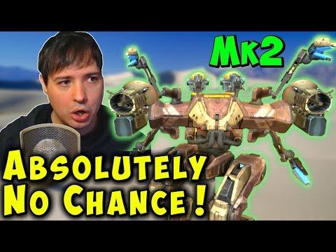Manni Gets Totally Destroyed - No Chance War Robots Gameplay WR