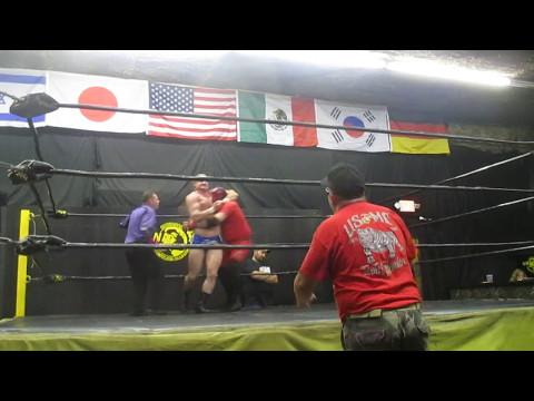 Josh Lewis vs Red Phoenix (NWA United States Championship match)