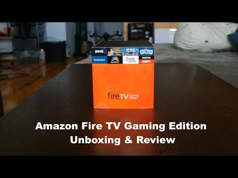 New Amazon Fire TV 4K Gaming Edition Review