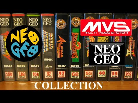 Neo Geo MVS & AES Collection 2018