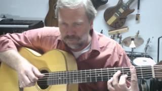 "Gerhard Gschossmann - ""Don´t get around much anymore""  (Duke Ellington) guitar solo fingerstyle"