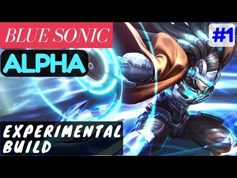 Experimental Build [Rank 3 Alpha] | BLUE SONIC Alpha Gameplay and Build #1 Mobile Legends