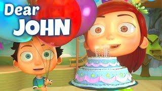 Happy Birthday Song to John