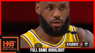 Lakers vs Rockets Game 4 | 9.10.20 | Full Game Highlights | 2nd Round