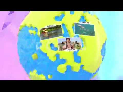 Royalty Free | After Effects Template | Around The World Travel Memories 2In1