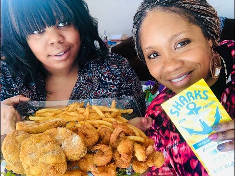 Shark's Fish & Shrimp Mukbang With Bri!