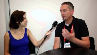 Interview with James Dashner, author of THE MAZE RUNNER, at BEA 2015