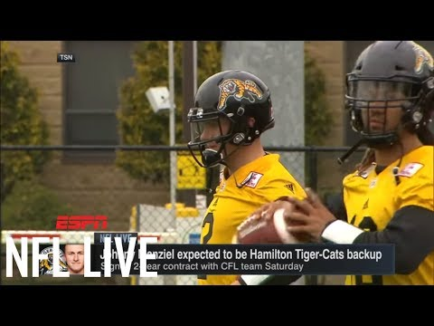 Johnny Manziel has 'been pretty accurate' in practice w/ CFL's Hamilton Tiger-Cats | NFL Live | ESPN