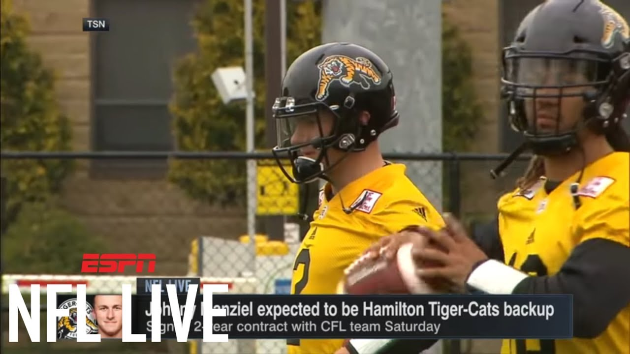 Johnny Manziel makes CFL debut in Hamilton's exhibition loss