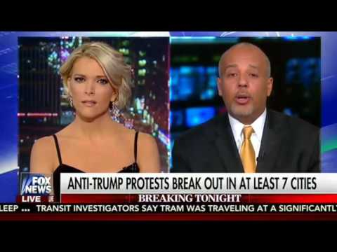 ►The Kelly File  Nov 9, 2016  Anti Trump Protests Erupt in Major US Cities; Katrina Pierson Intervie