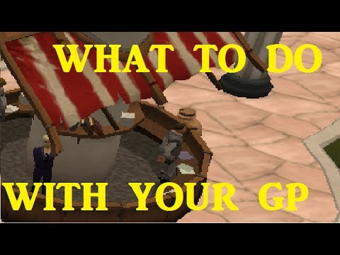 Runescape Money Guide - How to Spend Your First 100M [RS 2014]