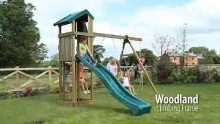 Woodland Climbing Frame