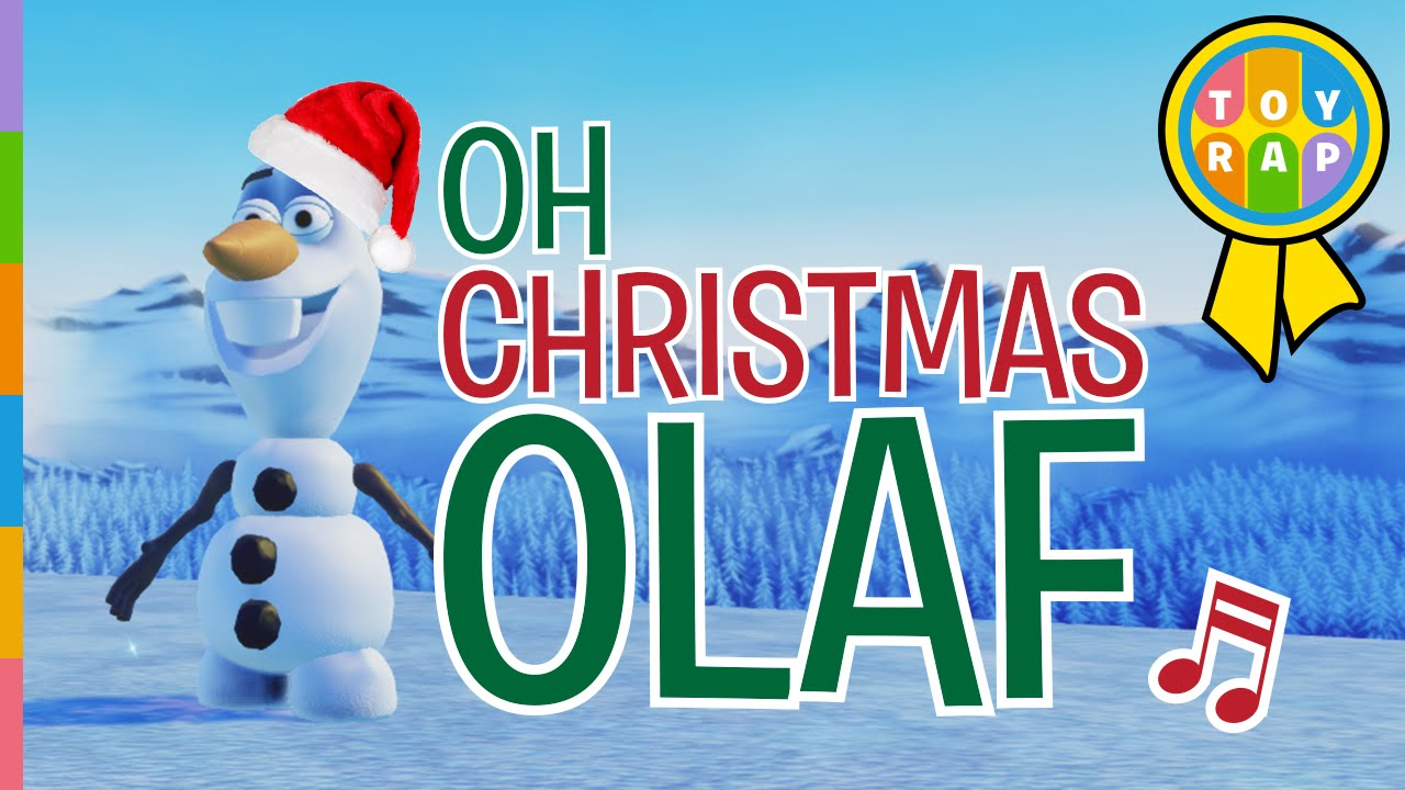 Frozen Olaf to OH CHRISTMAS TREE Christmas Songs for Kids | Merry ...