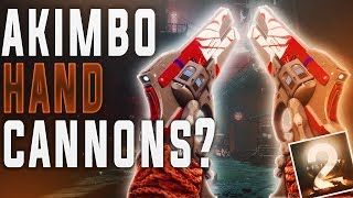 Destiny 2 AKIMBO HAND CANNONS?? (New Interview)
