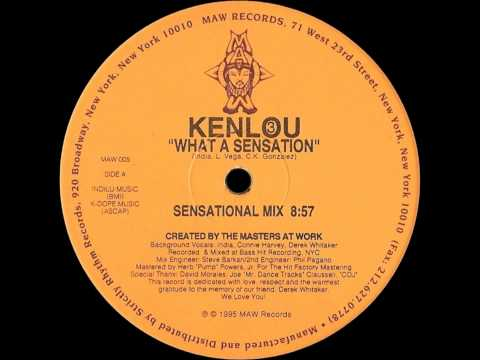 Kenlou III - What A Sensation (Sensational Mix) [MAW RECORDS - MAW 005]