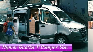 Hymer DuoCar S - Mercedes Sprinter Based Camper (QUICK LOOK)
