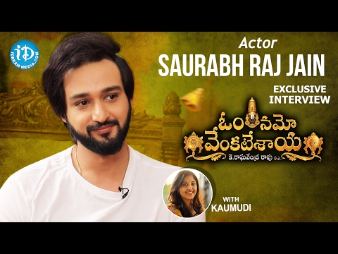 Saurabh Raj Jain Exclusive Interview || #OmNamoVenkatesaya || Talking Movies With iDream #306