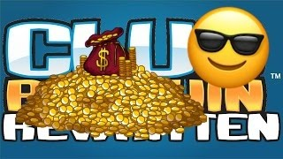 How to get 25,000 coins in 10 minutes! (Club Penguin Rewritten)