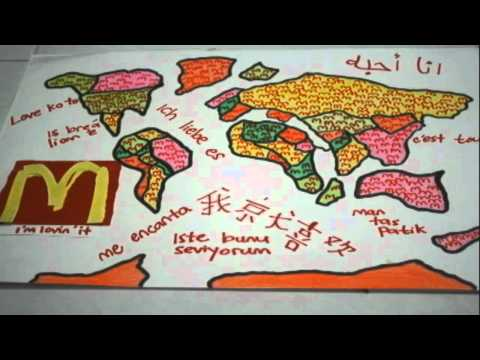 World Without Walls - Stop Motion - Globalization