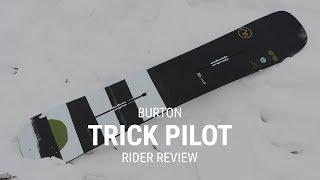 Burton Trick Pilot 2019 Snowboard Rider Review - Tactics.com