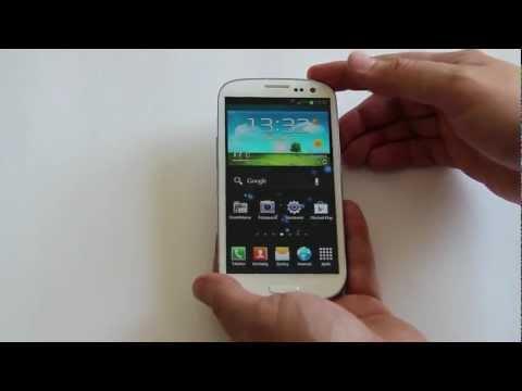 Samsung Galaxy S III: Videopohled, obsah balení &první dojmy