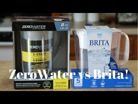 ZeroWater vs Brita