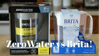 prepare and change brita filter