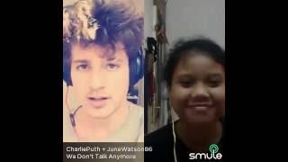 we don't talk anymore karaoke ft charlie puth