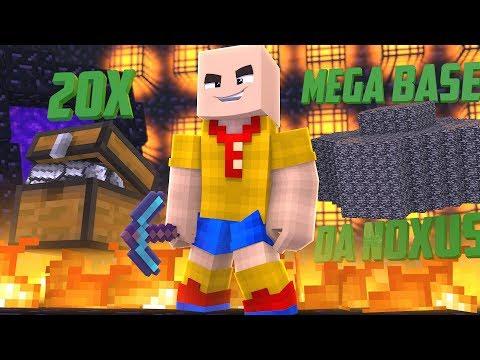 Minecraft: TERMINANDO A MEGA BASE DA NOXUS + VENDENDO 20 BAUS DE BLOCO DE FERRO! ‹Factions Nexus›