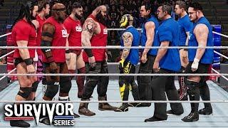WWE 2K19 Survivor Series 2018 - Team RAW vs Team Smackdown 5 On 5 Survivor Series Elimination Match!