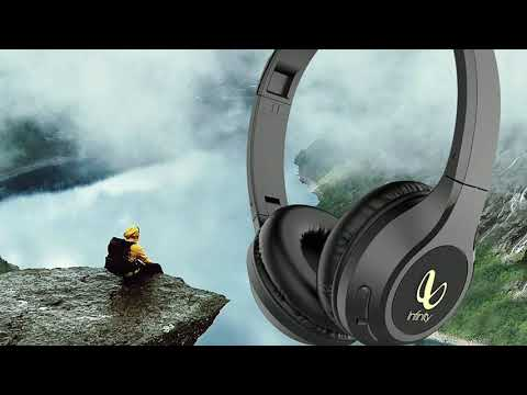 Infinity ,(jbl ) glide 500 wireless headphones with 20 hours playtime ( quick charge) deep bass