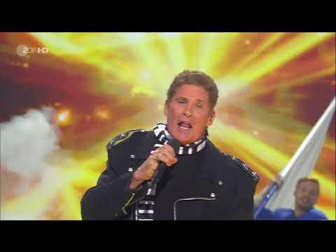 David Hasselhoff - Hit-medley (Willkommen bei Carmen Nebel - 2018-03-29)