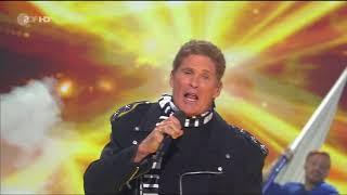 Смотреть клип David Hasselhoff - Hit-Medley