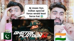GHATAK COMMANDOS 2.0 - Indian Army - Military Motivation Reaction by |Pakistani Bros Reactions|