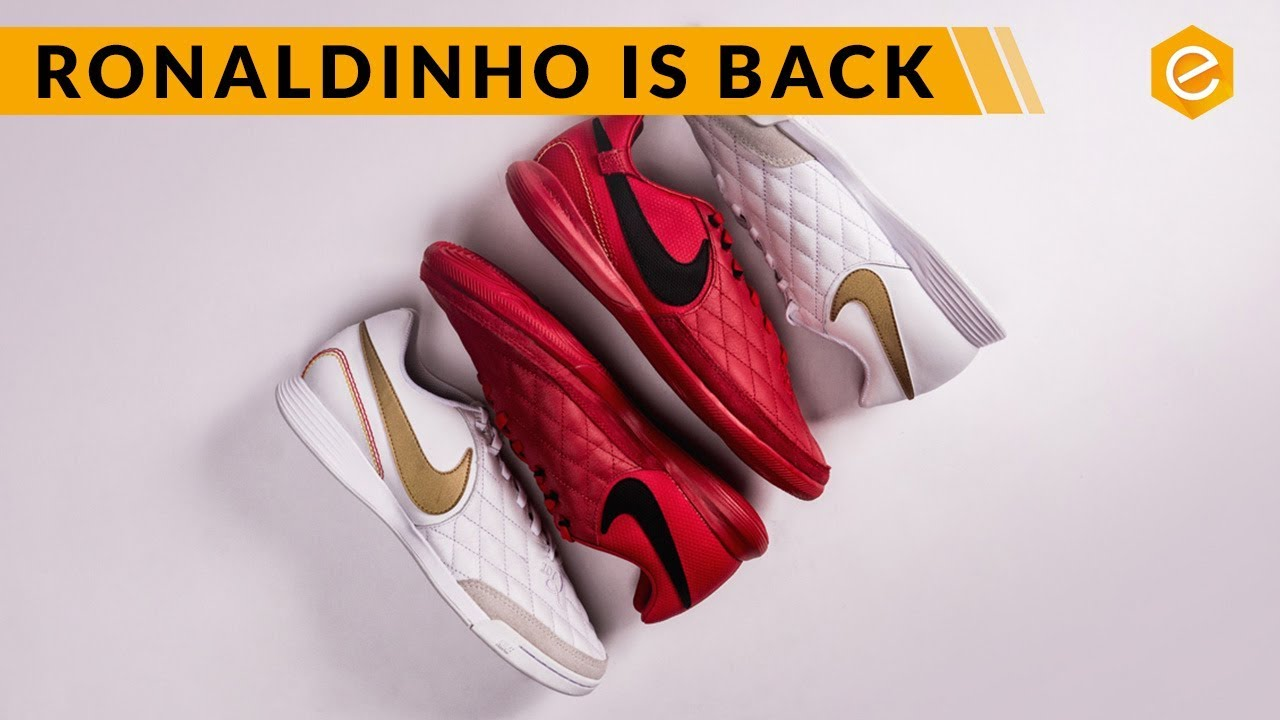 Nike Tiempo R10 Fútbol sala City Collection - YouTube 1af629f69e654