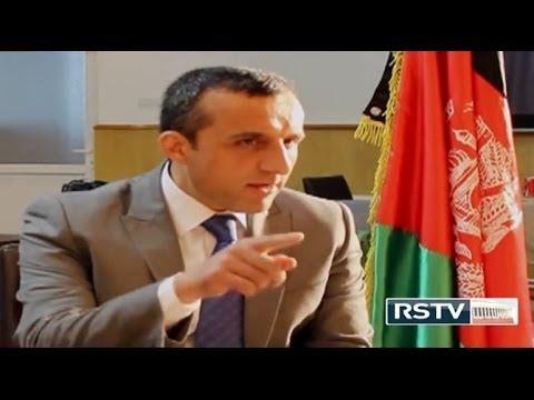 Amrullah Saleh on Indian Standard Time