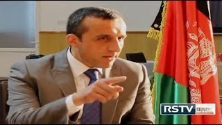 Amrullah Saleh on Indian Standard Time