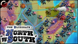 OLD CIVIL WAR GAME! Remastered PC Version | The Bluecoats: North vs South Gameplay