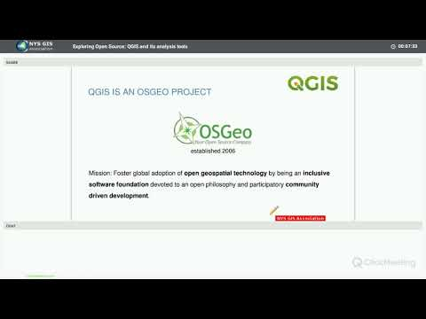 Exploring Open Source: QGIS and its analysis tools