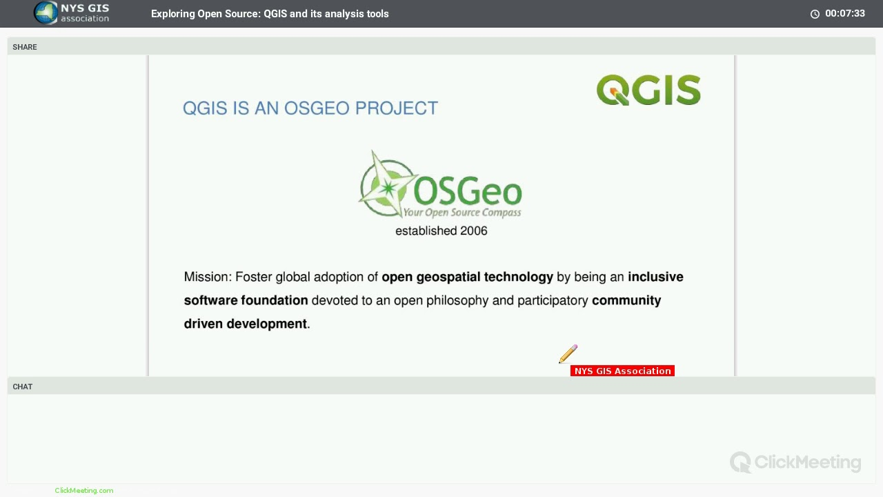 QGIS Presentation by Anita Graser | NYS GIS Association